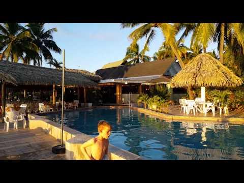 Sunset at the Edgewater Resort, Rarotonga