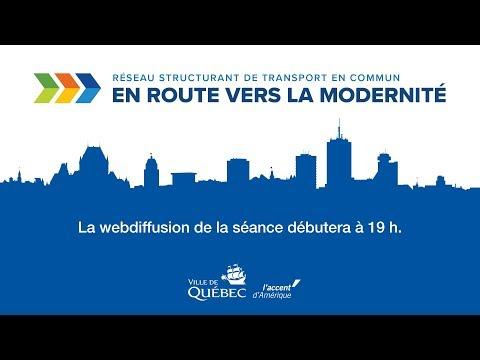 Séance d'information du 4 avril 2018 - Réseau structurant de transport en commun