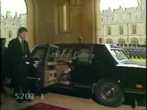 Mikhail S. Gorbachev's official visit to the UK