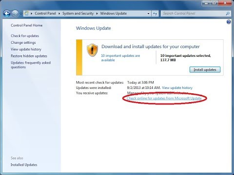Cara Update Java Windows 7