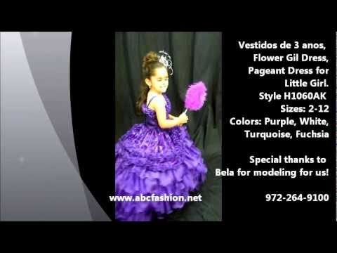 e89c9d09a 3 Anos Purple Dresses