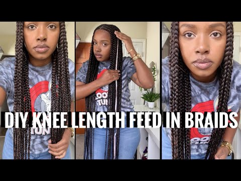 diy-feed-in-knee-length-braids-(3-layers,-cornrows)
