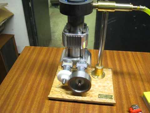 Ross 11cc beta rhombic drive hot air engine