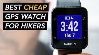 Garmin ForeRunner 35 GPS tracker watch review - Best cheap GPS watch for hiking