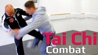Tai chi combat tai chi chuan - How to use tai chi to takedown. Q17