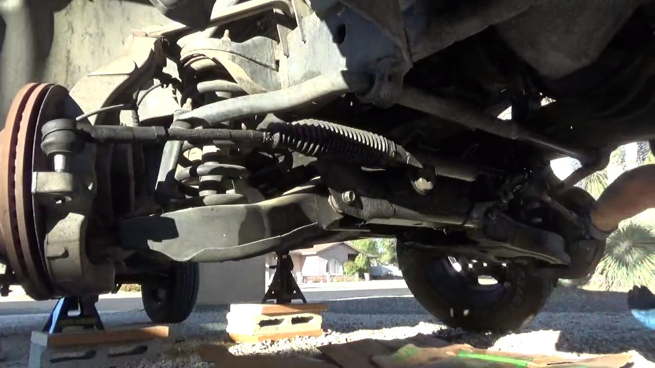 medium resolution of how to remove rack and pinion on 2003 dodge ram 1500