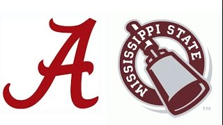 2013 #1 Alabama at Mississippi State (Highlights)