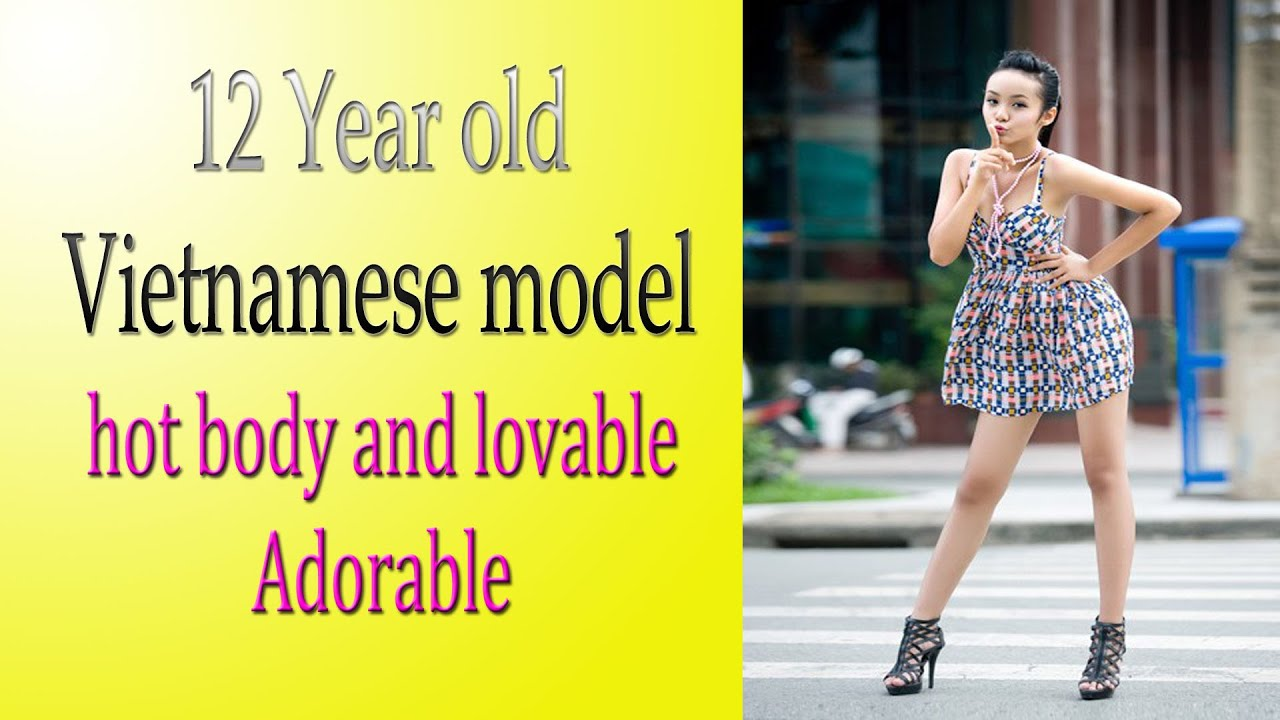 12 Years Old Vietnamese Model Becomes Famous On Internet