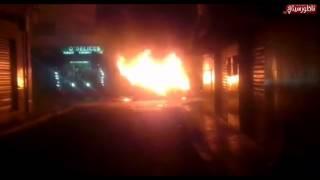 اندلاع حريق مُهْوِل في سيارة مَدَنية وسط الناظور حال دون وقوع كوارث في الأرواح