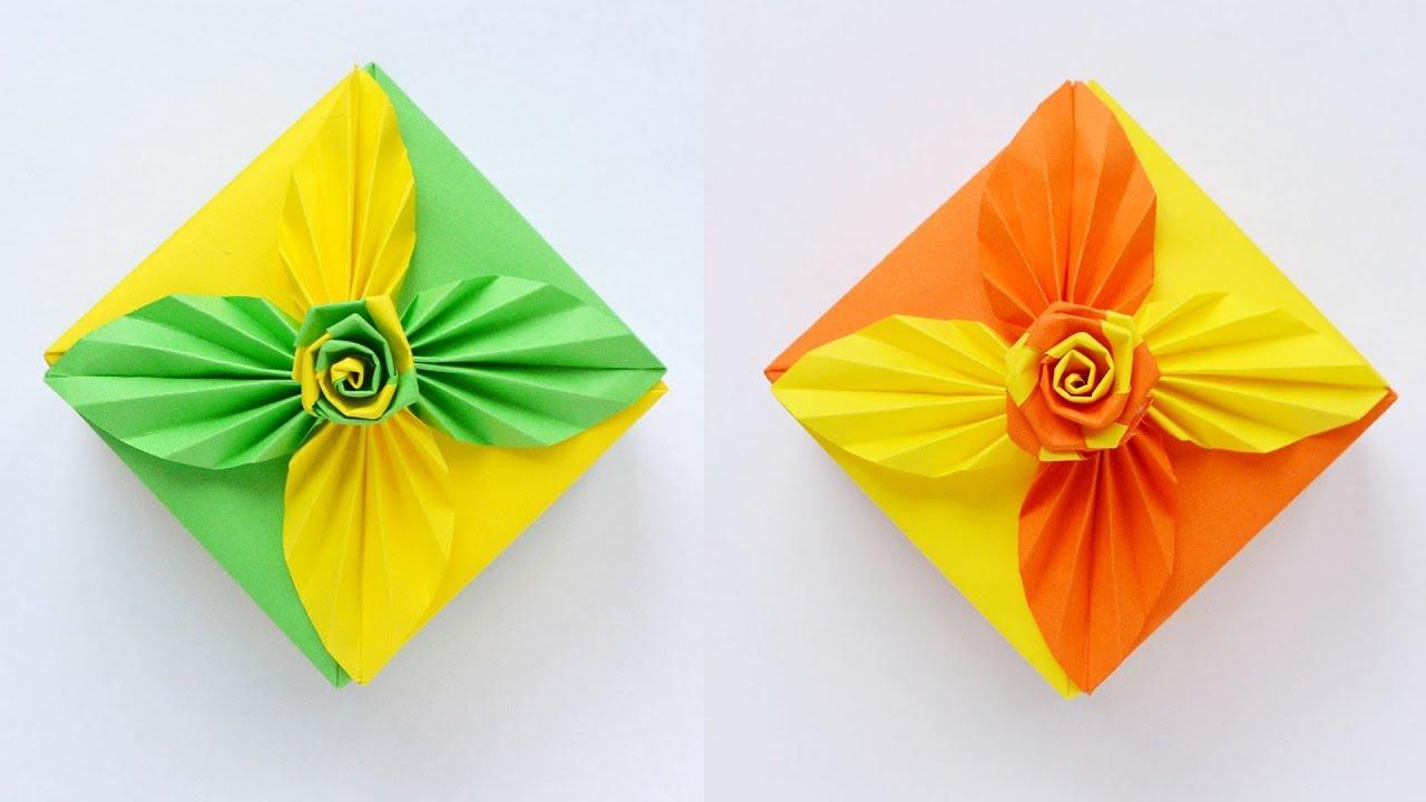 Modular Origami Magic Rose Cube Folding Instructions | 720x1280
