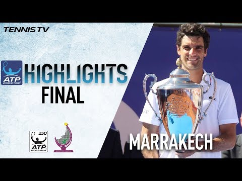 Highlights: Andujar Clinches Fourth Career Title Marrakech 2018