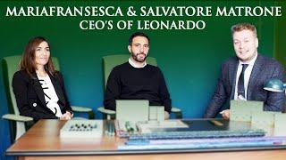 Appelboom on Tour: Mariafransesca & Salvatore Matrone (CEO's of Leonardo ) + Giveaway!