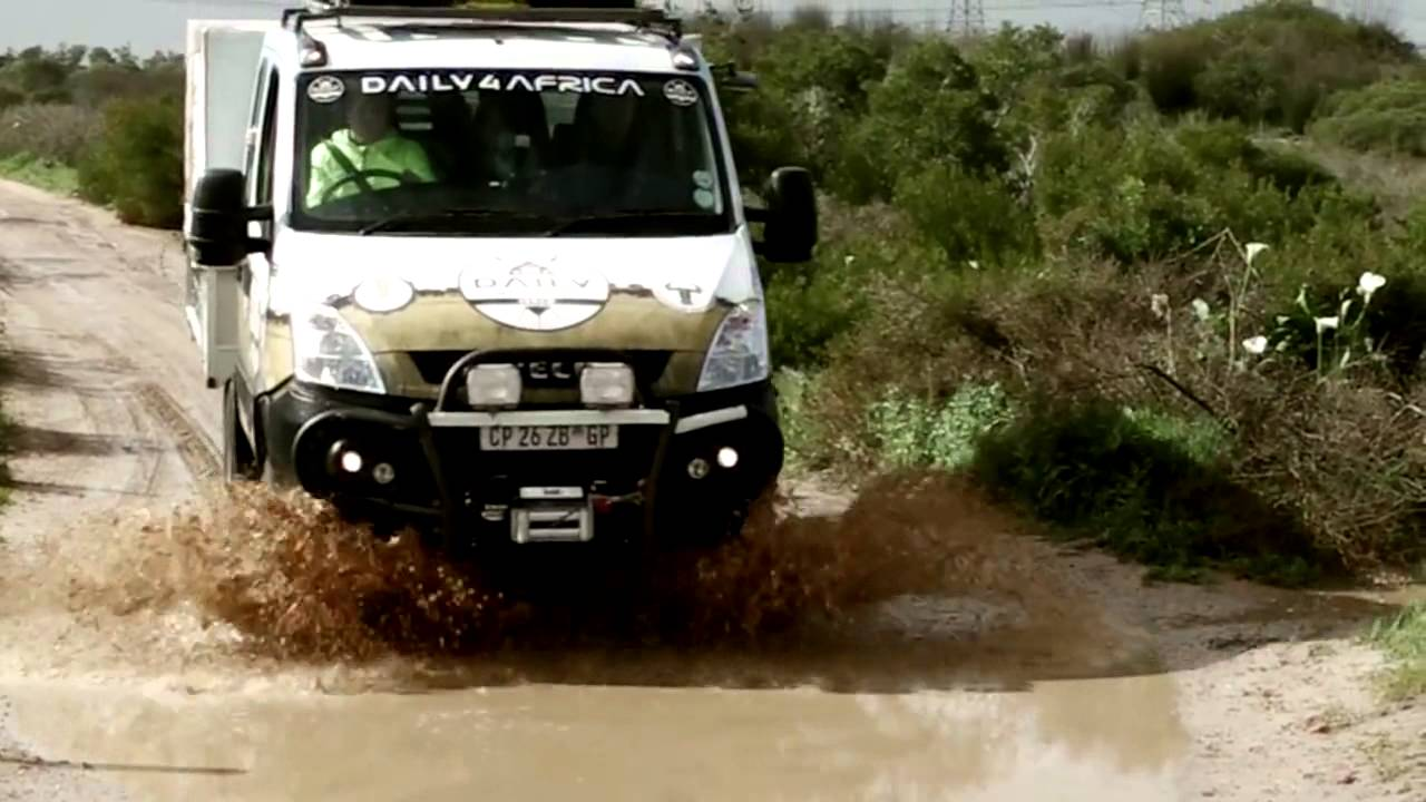 iveco daily 4x4 daily 4 africa trailer youtube. Black Bedroom Furniture Sets. Home Design Ideas
