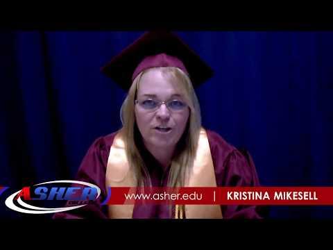 Kristina Mikesell - Office Administrator Graduate