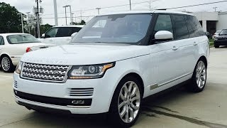 2016 Range Rover Supercharged Full Review, Start Up, Exhaust