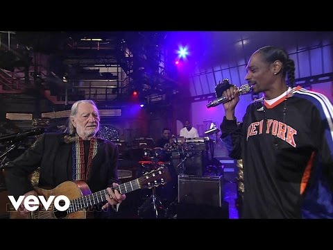Snoop Dogg - Superman (Live on Letterman) ft. Willie Nelson