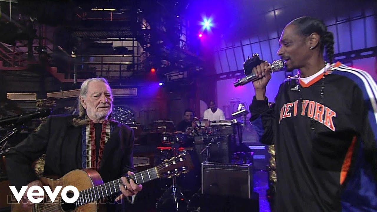 Snoop Dogg - Superman (Live on Letterman) ft. Willie Nelson