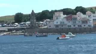 UK - Poole - Jurassic Coast cruise