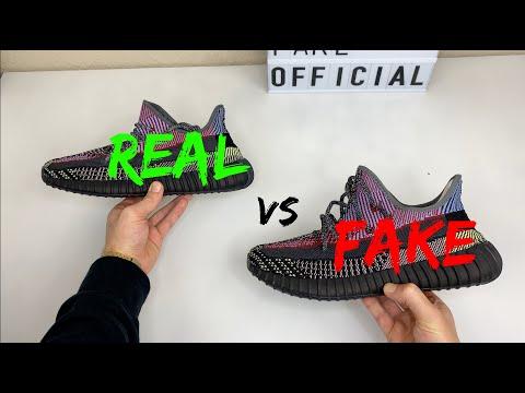 REAL VS FAKE! ADIDAS YEEZY 350 V2 YECHEIL COMPARISON!