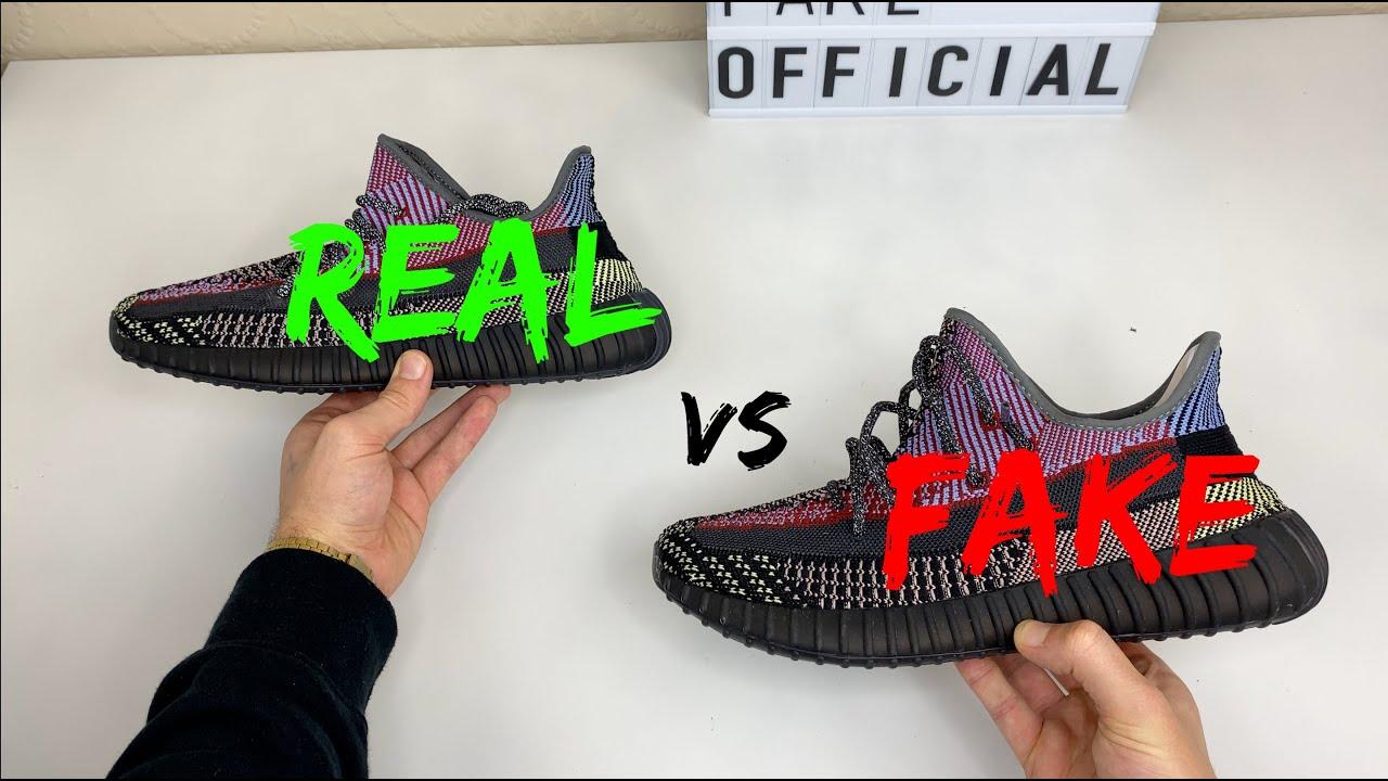 REAL VS FAKE! ADIDAS YEEZY 350 V2