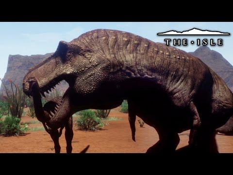 Desert Dinosaurs!!! - The Isle