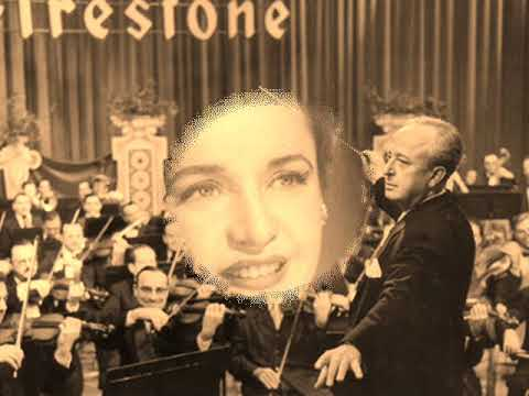 VOICE OF FIRESTONE 14 05 1948 with ELEANOR STEBER SOPRANO