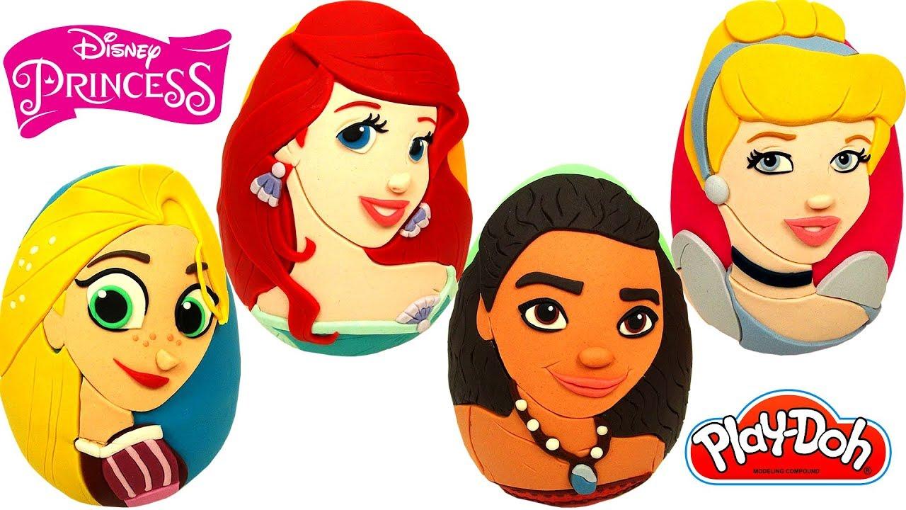 Download Disney Prensesleri Sürpriz Yumurtaları Ariel Rapunzel Moana Sindirella Disney Prenses Oyuncakları