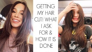 Getting My Hair Cut! What I Ask For & How it's Done