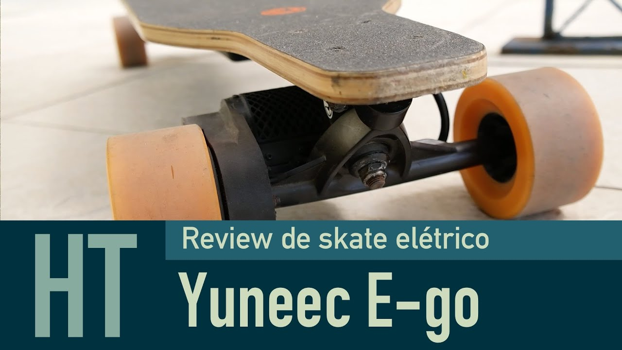 Review Skate Elétrico Yuneec E-go - YouTube 4d6fe13c472d