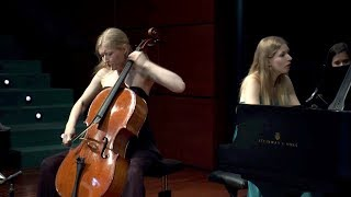 Brahms - Sonata in e Minor op.38 - Anouchka & Katharina Hack - 1st movement