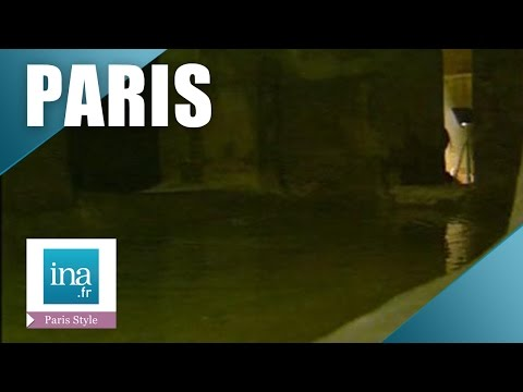The hidden lake under the Garnier Opera | INA Archive