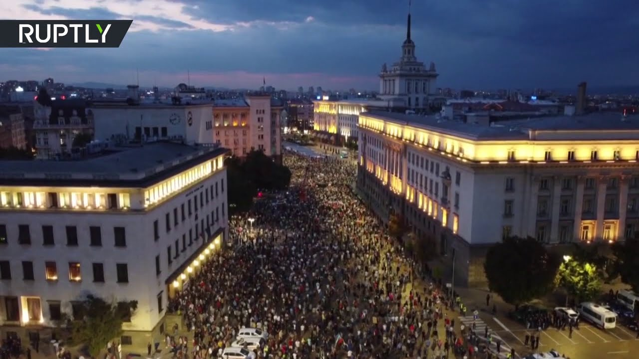 Thousands of Bulgarians demand PM's resignation at massive rally in Sofia