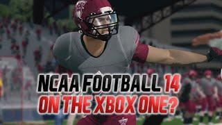 NCAA Football 14 on the Xbox One?