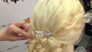 How to put hair up for wedding- Mad Lillies Salon Dubai Motorcity