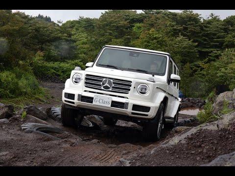 【ムービー】新型メルセデス・ベンツGクラスを悪路&舗装路でテストドライブ