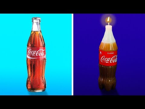15 ABSOLUTELY AMAZING DIY CANDLES