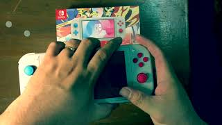 Unboxing: Switch Lite PKMN Edition (REverse Boxing)