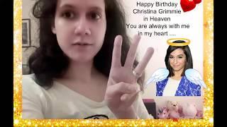Happy 24th Birthday Christina Grimmie!Team GRIMMIE