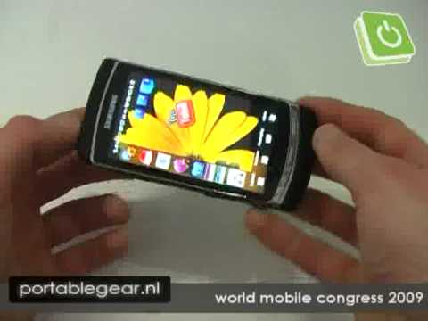 Samsung i8910 Omnia HD hands-on