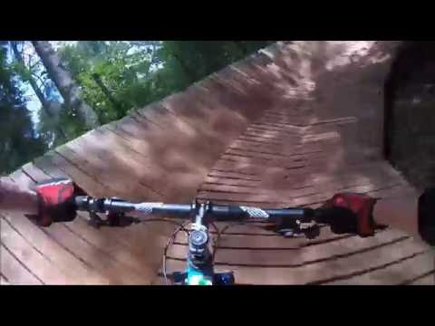 Mountain Biking Blankets Creek Trails - Quehl Holler - July 7, 2016