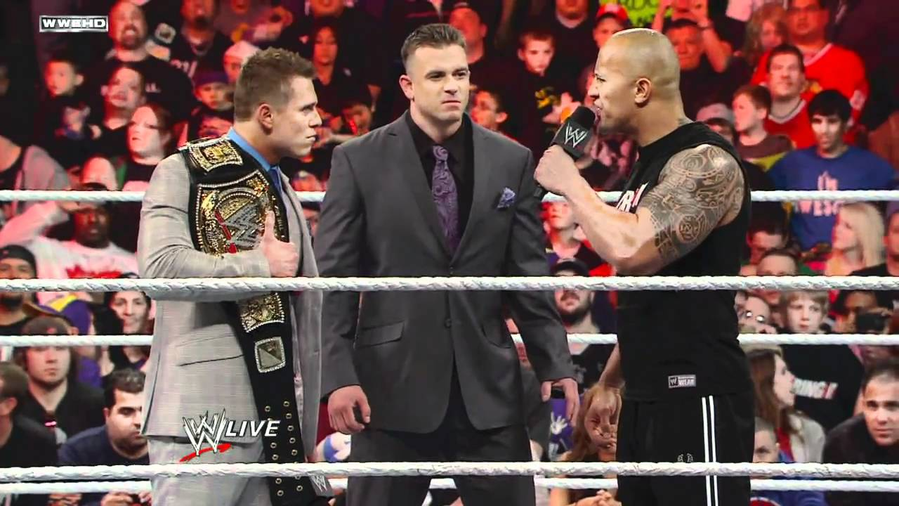 Download Raw: A showdown between The Rock, John Cena and The Miz