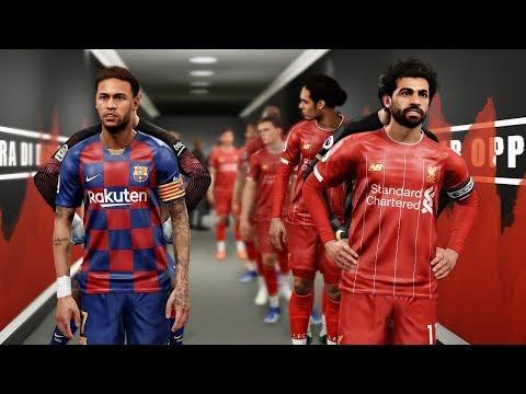 Barcelona Vs Liverpool Ft Griezmann , Neymar , Asensio , Lindelof