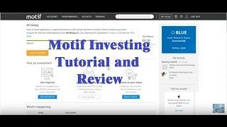 motif investing tutorial - motif platform explained