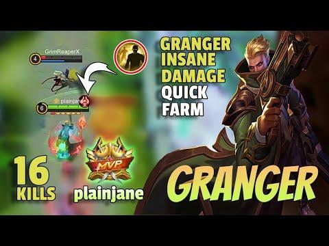 Granger INSANE Build - Top Global | Mobile Legends - Giveaway In Description 👇