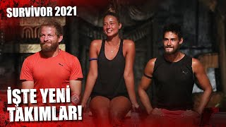 SURVİVOR'IN YENİ TAKIMLARI! | Survivor 2021