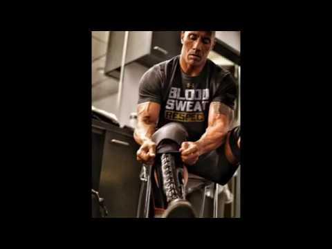 Dwayne The Rock Training Legs (La Roca Entrenando Pierna)