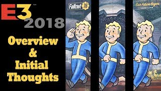 Fallout 76 - E3 Showcase Overview & Initial Thoughts