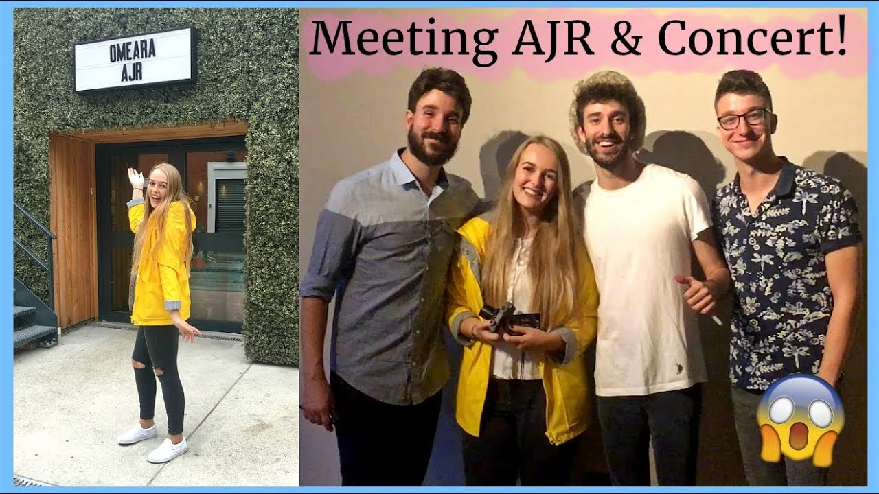 Ajr meeting them and concert london 230917 youtube ajr meeting them and concert london 230917 kristyandbryce Choice Image