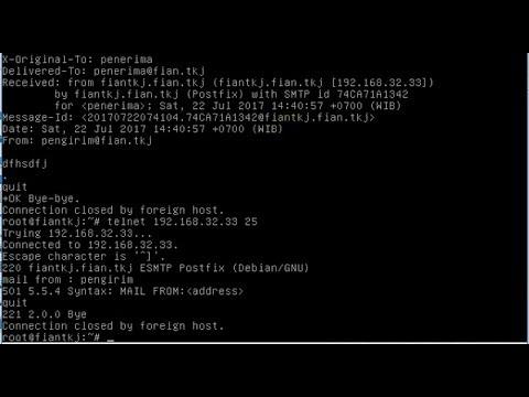 debian 9 how to configure mail server and webmail (postfix, courier imap, courier pop, roundcube)