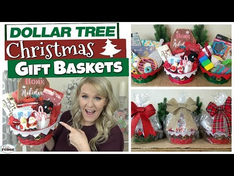 DOLLAR TREE CHRISTMAS GIFT BASKET IDEAS 🎄 Budget Christmas Gift Ideas